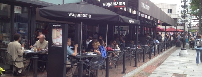wagamama is one of Lieux sauvegardés par Caroline.