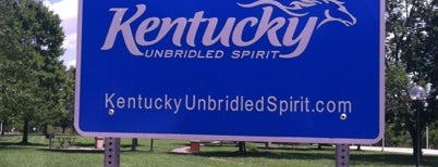 Kentucky/Tennessee Border is one of Joshuaさんの保存済みスポット.