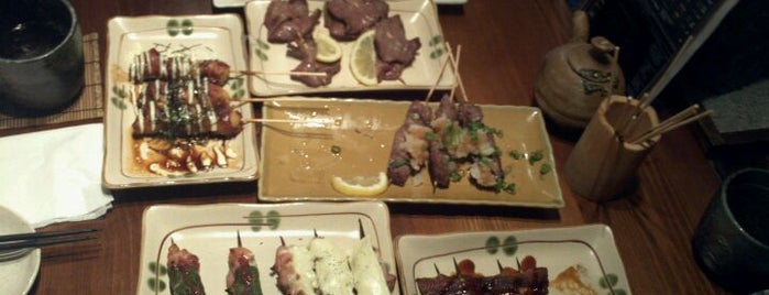 Zakkushi Charcoal Grill is one of Favourite restaurants.