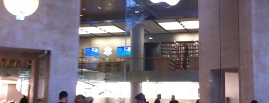 Apple Carrousel du Louvre is one of Apple Stores around the world.