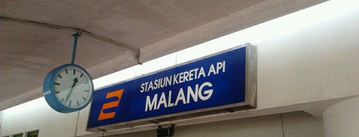 Stasiun Malang is one of Welcome to Malang!.