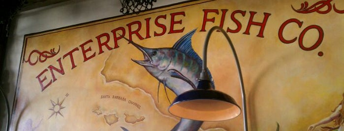 Enterprise Fish Company is one of Califórnia.