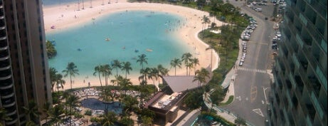 Hilton Grand Vacations at Hilton Hawaiian Village is one of The Beaches in Hawaii.