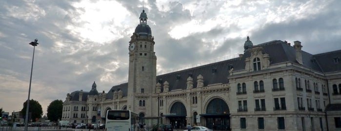 Gare SNCF de La Rochelle-Ville is one of Europe: 3months business trip '15.