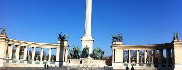 Kahramanlar Meydanı is one of Must Do's in Budapest.