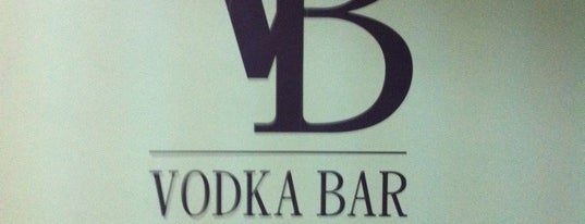 Vodka Bar is one of Kiev?.