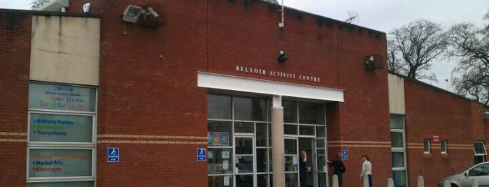 Belvoir Activity Centre is one of GLL Leisure Centres, Gyms, Pools.