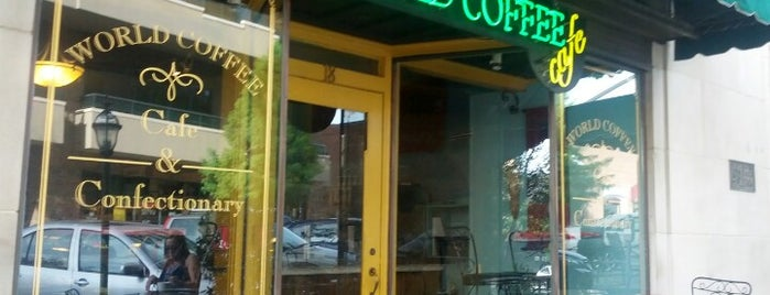 World Coffee is one of Asheville.