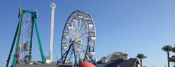 Kemah amusement park is one of Houston.