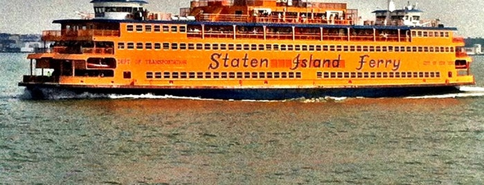 Staten Island Ferry Boat - Andrew J. Barberi is one of Lieux qui ont plu à Erik.