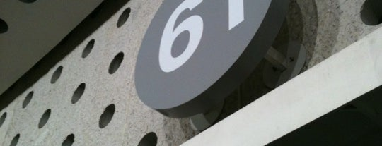 Sala 61 is one of Lieux qui ont plu à Bob.