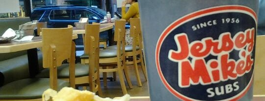 Jersey Mike's Subs is one of Lunch places by the new office.