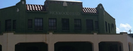 Rickwood Field is one of Mary's Saved Places.