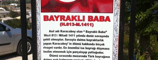 Bayraklı Baba Türbesi is one of Canakkale.