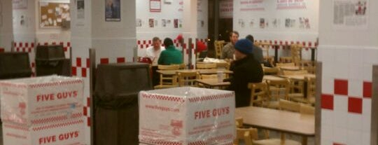 Five Guys is one of Juan's Liked Places.