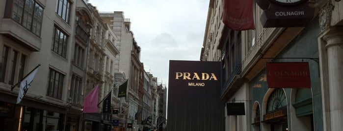 Old Bond Street is one of Relax in London.