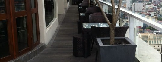 The Rooftop Bar & Restaurant is one of SOUTH EAST ASIA Dining with a View.