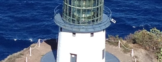 Makapu'u Lighthouse is one of Oahu: The Gathering Place.