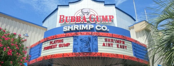Bubba Gump Shrimp Co. is one of Tempat yang Disukai B David.