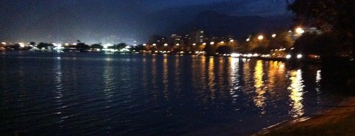Lagoa Rodrigo de Freitas is one of Top 10 favorites places in Rio de Janeiro, Brasil.