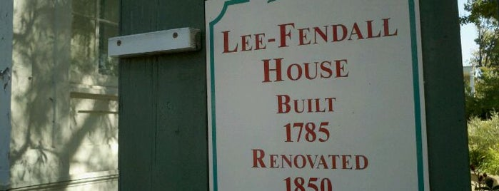 Lee-Fendall House is one of Washington DC.
