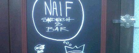 Naif Sandwich & Bar is one of CILLAS.