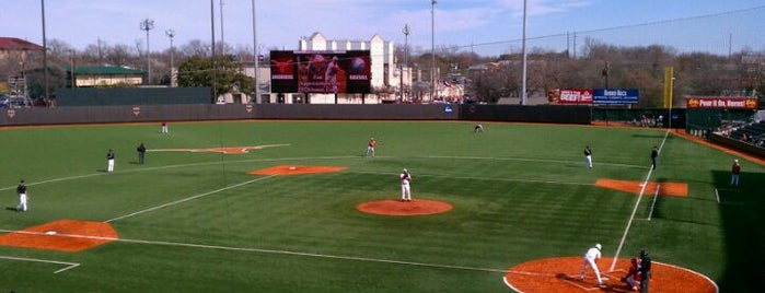 Disch-Falk Field is one of University of Texas Tour.