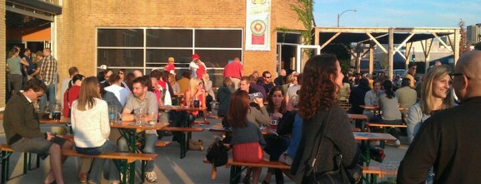 Urban Chestnut Brewing Company is one of Wineries and Microbreweries around St. Louis.
