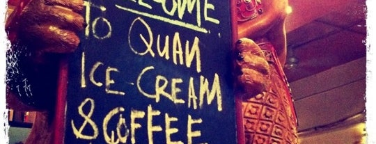 Quan Ice Cream & Coffee House (咖啡馆) is one of Yummies.