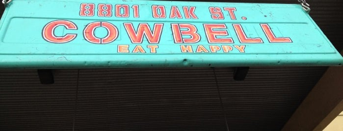 Cowbell is one of Where to Eat & Drink in NOLA.