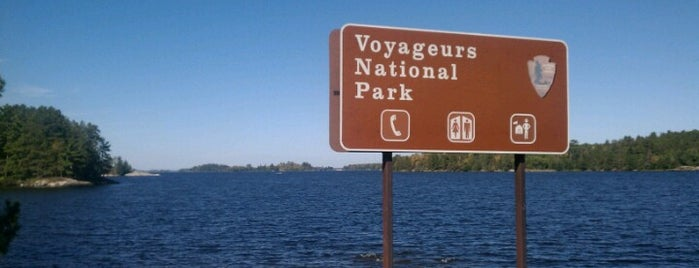 Voyageurs National Park is one of American National Parks.