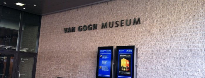 Van Gogh Museum is one of Museums that accept museum card.