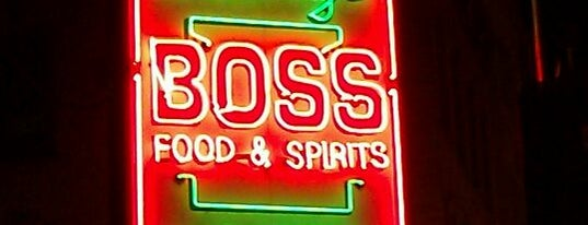 Boss Bar is one of Boozy Fun Time Drinks.
