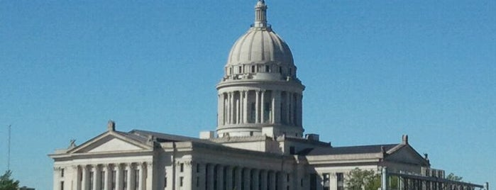 Oklahoma State Capitol is one of Lennon's Essential OKC Metro.