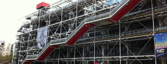 Centre Pompidou – Musée National d'Art Moderne is one of Museus.