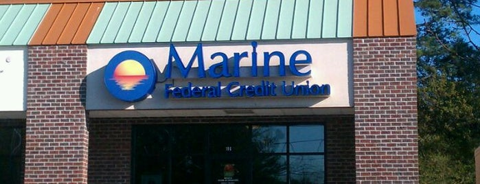 Marine Federal Credit Union is one of Davidさんのお気に入りスポット.