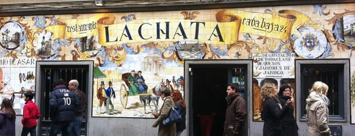 La Chata is one of Madrid.