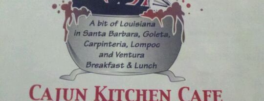 Cajun Kitchen Cafe is one of Locais curtidos por Brandon.