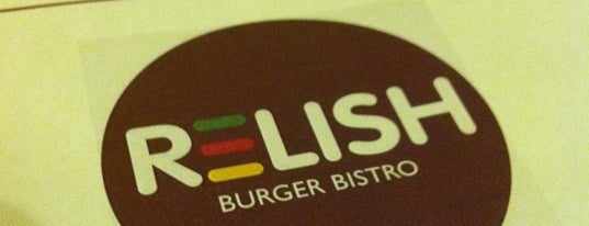 Relish Burger Bistro is one of ESTHER'in Beğendiği Mekanlar.