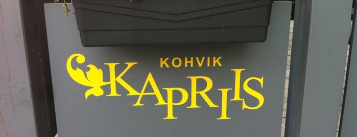 Kapriis is one of Food.