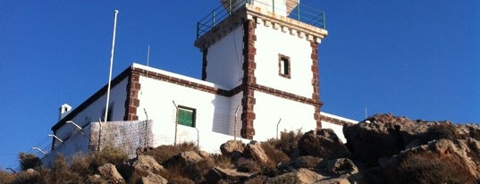 Lighthouse of Akrotiri is one of Santorini.