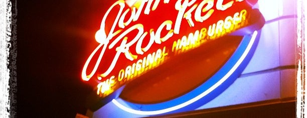 Johnny Rockets is one of Top 18 Places to Grab a Burger!.
