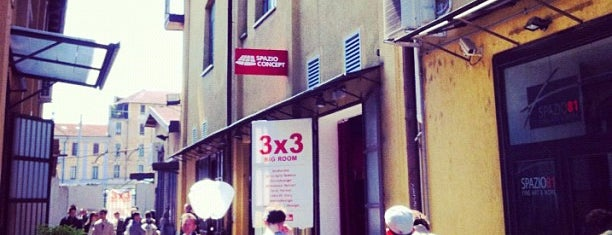 Zona Tortona is one of Milan - in the day.