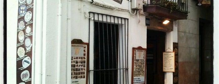 La Fusta is one of Restaurants de Catalunya.