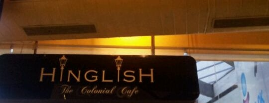 Hinglish - The Colonial Cafe is one of Lugares favoritos de Nataly.
