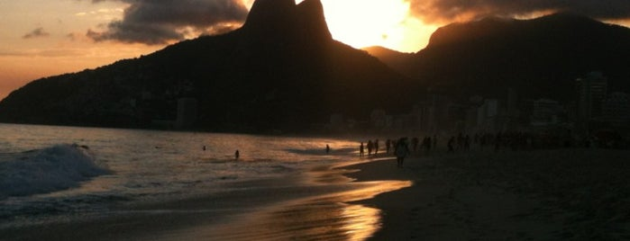 Praia de Ipanema is one of Adoro.