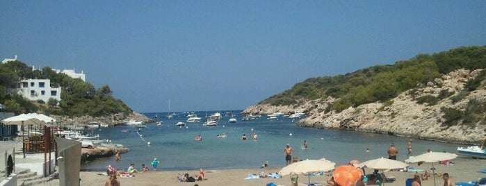 Cala Portinatx is one of Ibiza EDM Summer.