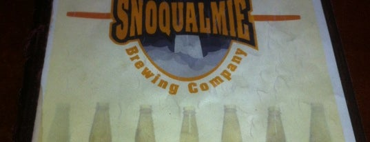 Snoqualmie Falls Brewery & Taproom is one of WABL Passport.