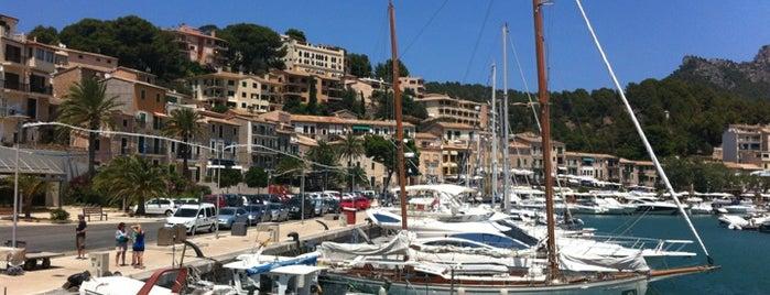 Port de Sóller is one of Mallorca.