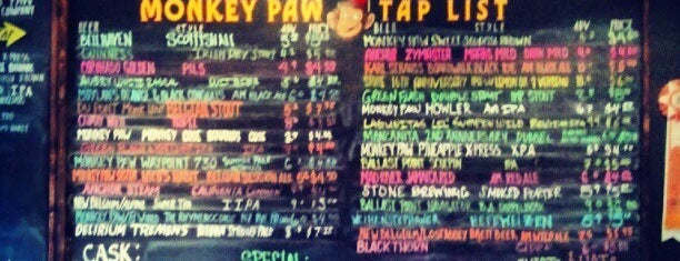 Monkey Paw Pub & Brewery is one of San Diego's Best Bars - 2013.